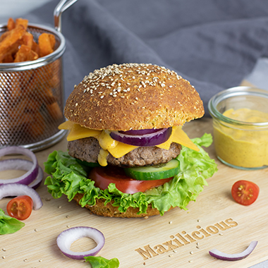 MaxiNutrition Vatertags-Burger